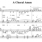 A Choral Amen